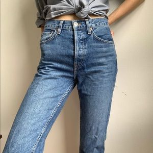 Women's jeans from RE/DONE LEVI'S